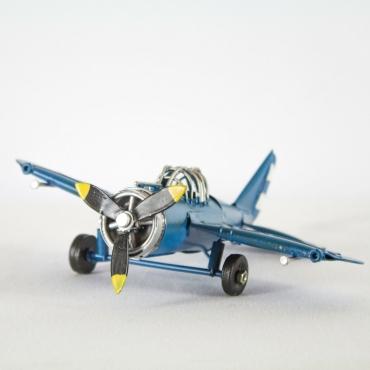 Avioneta Deco azul
