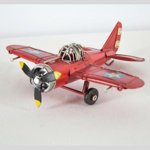 Avioneta deco Rojo
