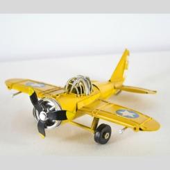 Avioneta Deco Amarilla
