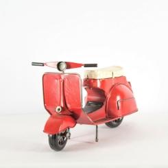 Moto Antigua Roja