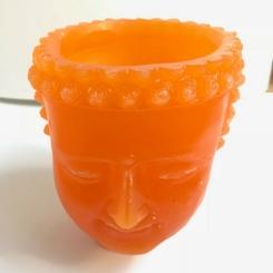 VE001 Fanal Cabeza Buda Naranja