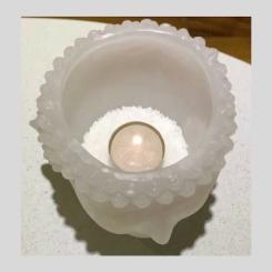 VE001 Fanal Cabeza buda con vela de noche