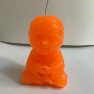 VE003 Vela Buda BB Naranja