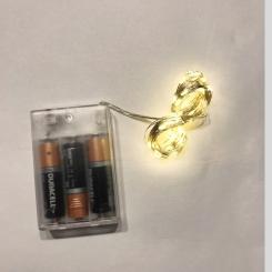 EV499 Hilo alambre con luces led 5 mts 3 pilas AAA