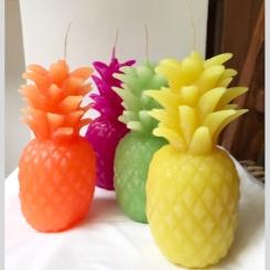 VE010 Velas anana colores
